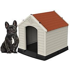 Casa para perros 66x73x69 cm