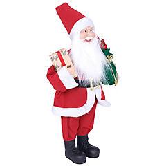 Santa 45 cm poliéster clásico