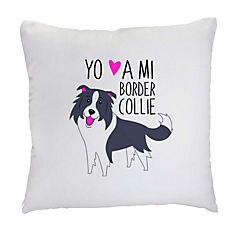 Cojín border collie