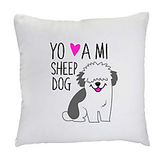 Cojín sheep dog