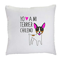 Cojín terrier chileno