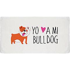 Toalla sport bull dog inglés
