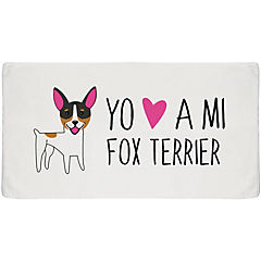 Toalla sport fox terrier
