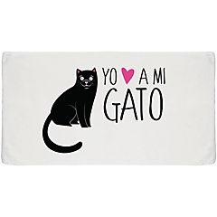 Toalla sport gato negro
