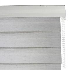 Cortina enrollable duo Lino Oats 120 x 240 cm blanco