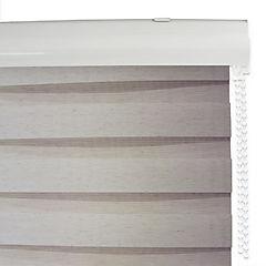 Cortina roller duo lino beige sand 120 x 240 cm