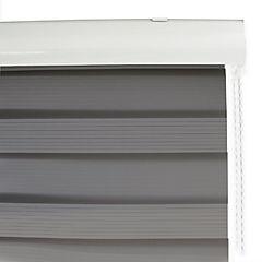 Cortina roller duo gris 90 x 160 cm