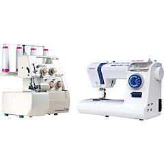 Combo máquina de coser + overlock qultmaster