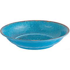 Fuente melamina azul