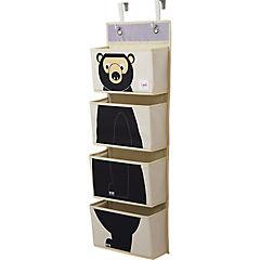 Organizador de pared oso 45,5x43x45,5 cm