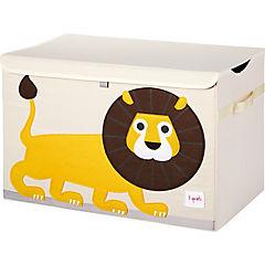 Baúl juguetes león 45,5x43x45,5 cm