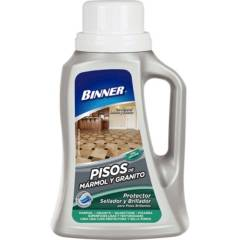 BINNER - Protector,sellador y abrillantador de mármol y granito 1 l
