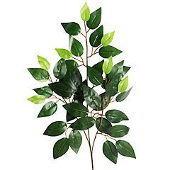 Vara artificial de follaje color verde
