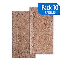 Panel 122mm osb / osb pack de 10 unidades