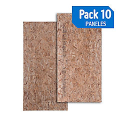 Panel 75mm osb / osb pack de 10 unidades