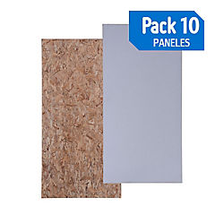 Panel 114 osb / hwrap  pack de 10 unidades