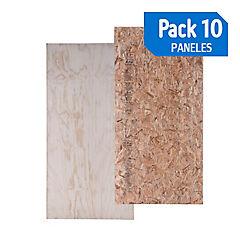 Panel 162 osb/tr pack de 10 unidades