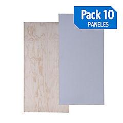 Panel 182 hwrap/tr pack de 10 unidades