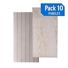 Panel 114 smart/tr pack de 10 unidades