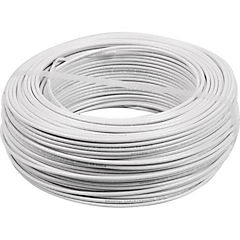 Cable eléctrico (Thhn) 14 Awg 50 m Blanco