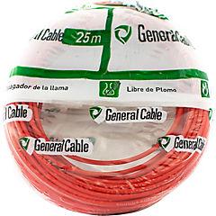 Cable libre de halógenos (H07Z1K) 2,5 mm2 25 m Rojo