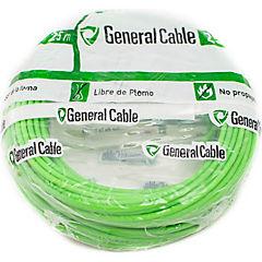 Cable libre de halógenos (H07Z1K) 1,5 mm 25 m Verde