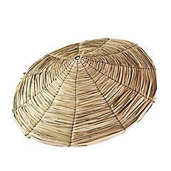 Paragua de totora 80 cm de diámetro