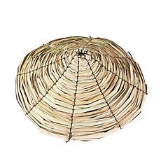 Paragua de totora 60 cm de diámetro