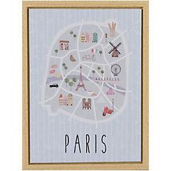 Canvas con marco Paris 30x40 cm