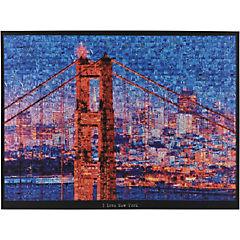 Canvas Puente con Skyline 60x80 cm