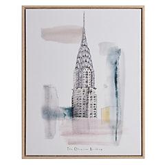 Canvas enmarcado Empire State Building 40x50 cm