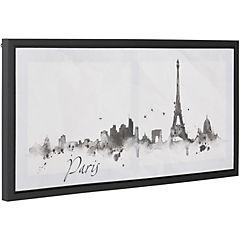 Canvas con marco Paris 38x80 cm