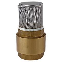Válvula pie con filtro 2