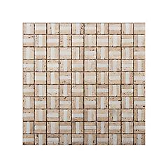 Malla mosaico 30x30 cm beige claro