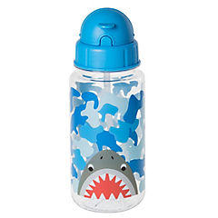 Botella de agua azul diseño dinosaurio