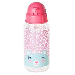 Botella 350 ml diseño rosada