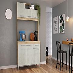 Kit mueble cocina 6 puertas 1 cajón