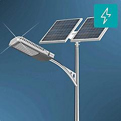 Kit poste solar 6 m 30W led 12 horas zona centro
