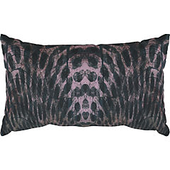 Cojín Leopardo Petróleo 30x50 cm
