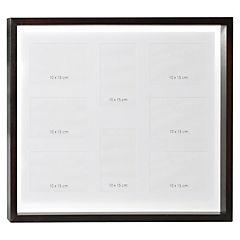 Marco madera box negro 40x50 cm 8 fotos
