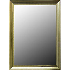 Espejo rectangular marco plastico 50x70 cm