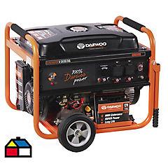 Generador eléctrico a gasolina 5,5 kw 10 hr