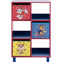 Estante 6 espacios 3 cajas 60x30x90 cm