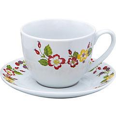 Juego de té 12 piezas porcelana