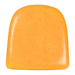 Base de asiento para silla tolix ecocuero amarillo