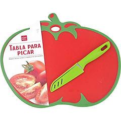 Tabla picar diseño tomate
