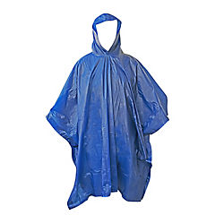 Poncho impermeable 0,002 ml