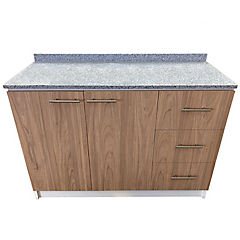 Mueble base cubierta granito 120x50x85 cm