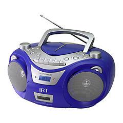 Radio cassette estéreo cd/ mp3 / usb / azul