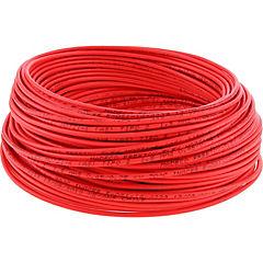 Cable libre de halógenos (H07Z1K) 1,5 mm2 50 m Rojo